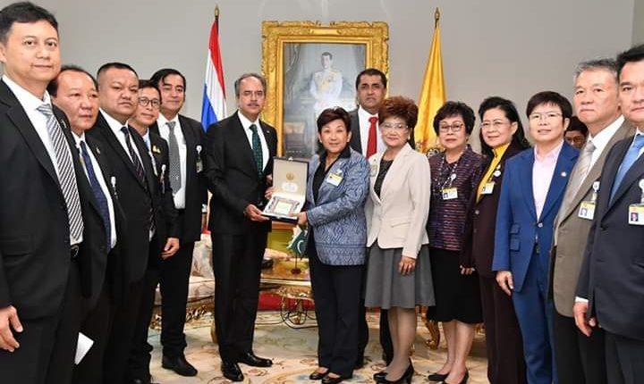 Pak Ambassador Met With Thailand Pakistan Parliamentarian Friendship Group Globalnewspakistan